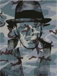 Warhol Joseph Beuys in Memoriam 1986